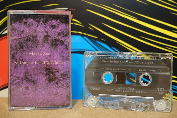 So Tonight That I Might See by Mazzy Star Vintage Cassette Tape