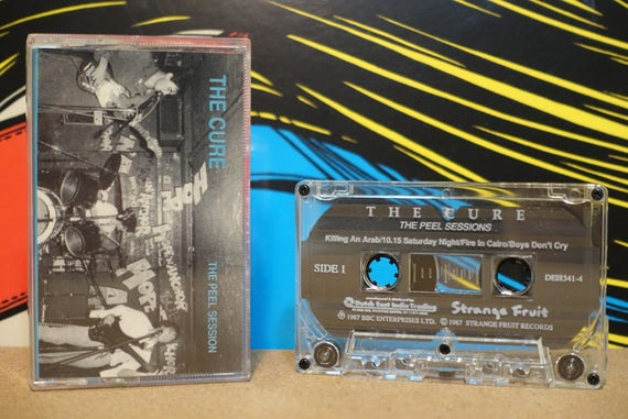 The Cure - The Peel Session Cassette Tape - 1988 Dutch East India Records - Vintage Analog Music
