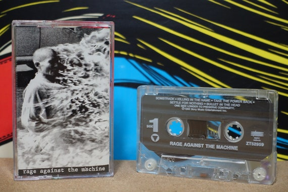 Rage Against The Machine by Rage Against The Machine Vintage Cassette Tape