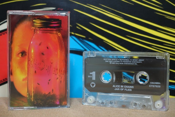 Jar Of Flies by Alice In Chains Vintage Cassette Tape