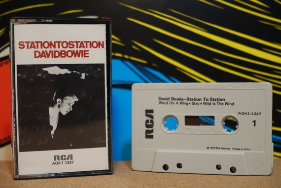 Station To Station by David Bowie Vintage Cassette Tape