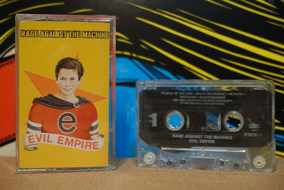 Evil Empire by Rage Against The Machine Vintage Cassette Tape