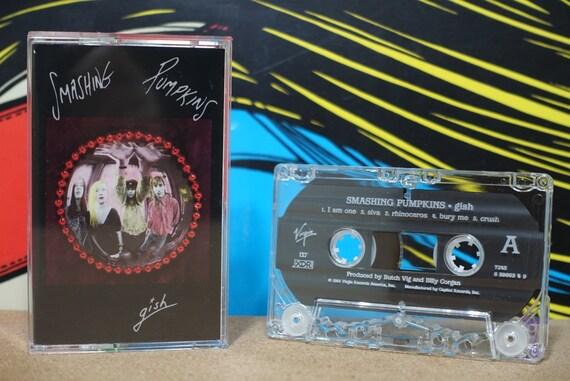 Gish by Smashing Pumpkins Vintage Cassette Tape