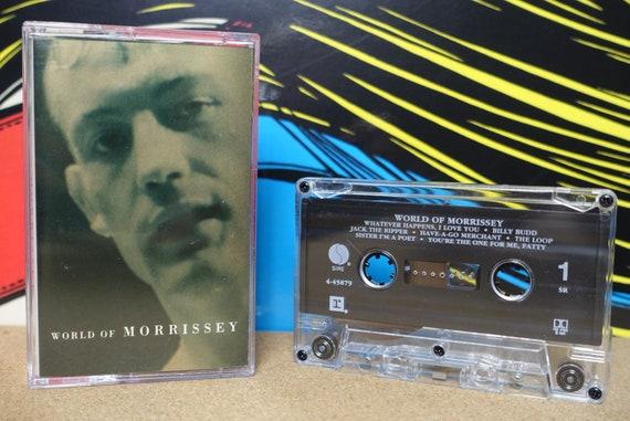 Morrissey - World of Morrissey Cassette Tape - 1988 Sire Records - Vintage Analog Music