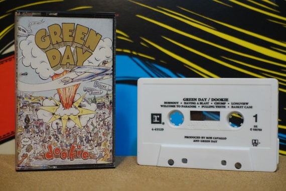 Dookie by Green Day Vintage Cassette Tape