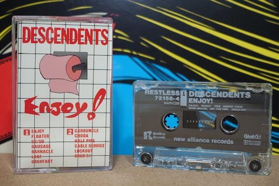 Enjoy! by Descendents Vintage Cassette Tape