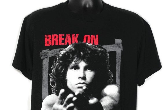 Vintage Original 90s 1993 The Doors - Jim Morrison - Break On Through - Mr Mojo Risin - Winterland 2-Sided Vintage T-Shirt