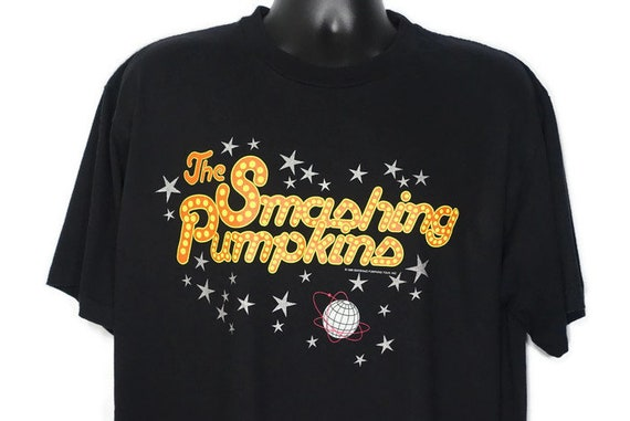 Vintage Original 90s - Smashing Pumpkins 1996 Vintage T Shirt - Infinite Sadness Tour Band Tee - Grunge Clothing Vintage Concert T-Shirt