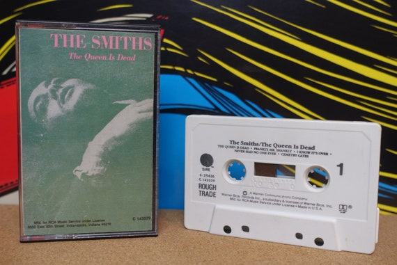 The Smiths - The Queen Is Dead Cassette Tape - 1986 Rough Trade Sire Records - Vintage Analog Music