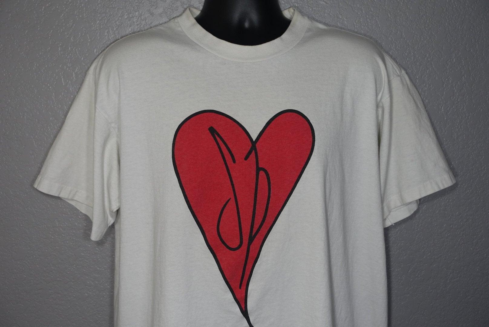 e5bcdd93a 1991 - 1992 RARE Smashing Pumpkins Double Sided - Heart Logo ...