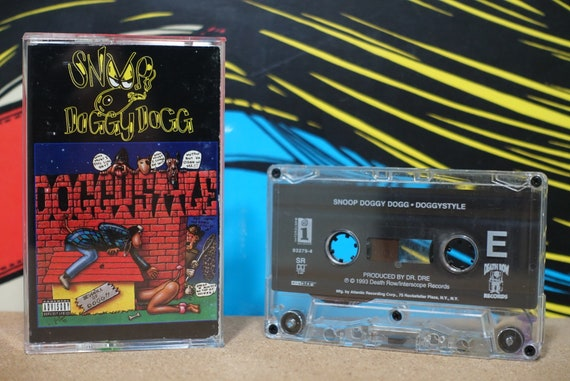 Doggystyle by Snoop Doggy Dogg Vintage Cassette Tape