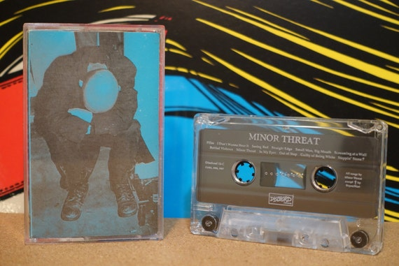 Minor Threat by Minor Threat Vintage Cassette Tape