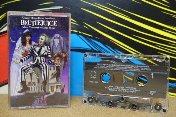 Beetlejuice Cassette Tape (Original Motion Picture Soundtrack) by Danny Elfman Vintage Analog Music