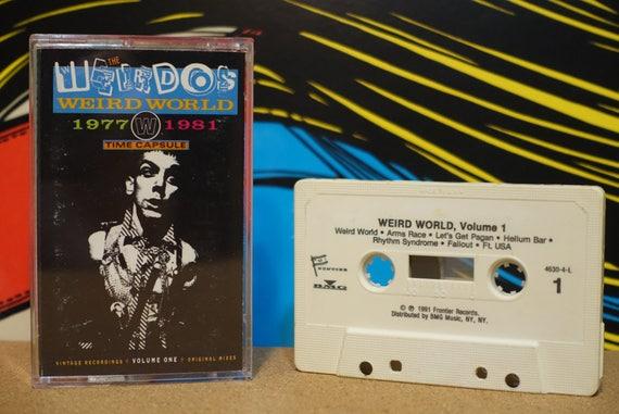 Weird World (Volume One 1977-1981) by The Weirdos Vintage Cassette Tape