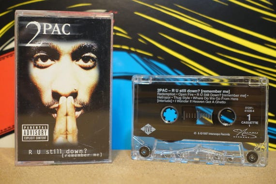 R U Still Down? [Remember Me] by 2Pac Tupac Shakur Vintage (2) Cassette Tapes