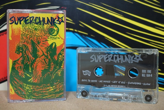 Superchunk by Superchunk Vintage Cassette Tape