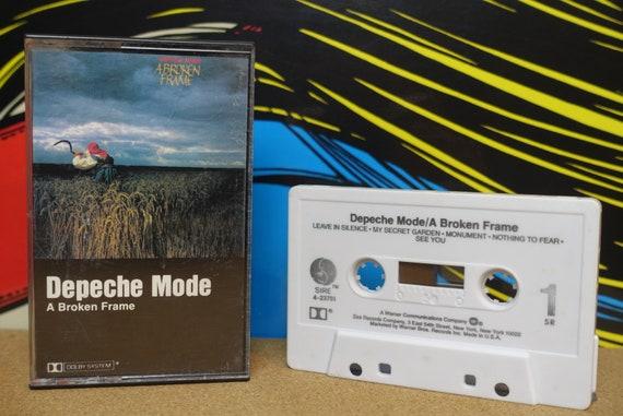 Depeche Mode - A Broken Frame Cassette Tape - 1982 Sire Records Vintage Analog Music