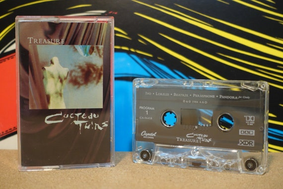 Treasure by Cocteau Twins Vintage Cassette Tape