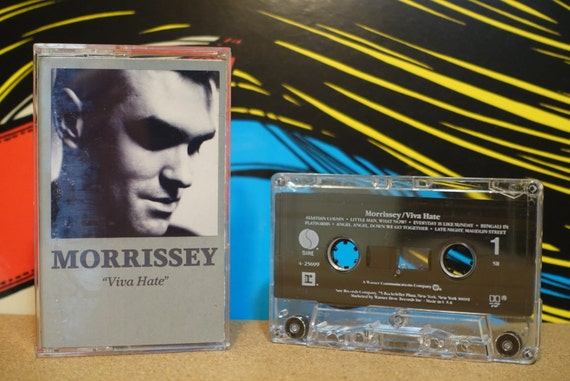 Viva Hate by Morrissey Vintage Cassette Tape