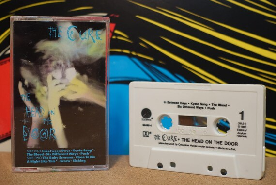 The Head On The Door by The Cure Vintage Cassette Tape
