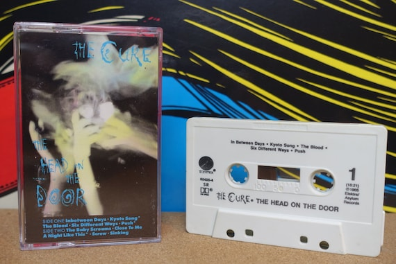 The Cure - The Head On The Door Cassette Tape - 1985 Elektra Records Vintage 80s Analog Music