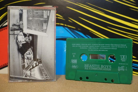 Ill Communication by Beastie Boys Vintage Cassette Tape