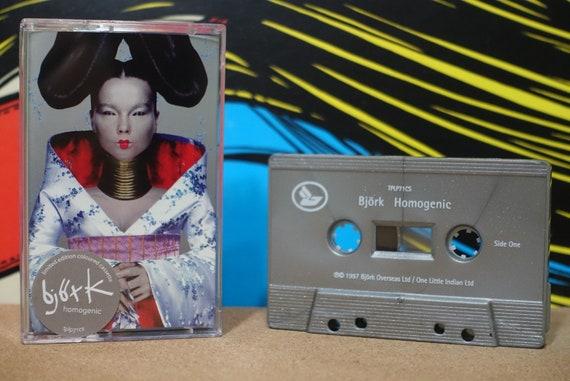 Homogenic by Björk Vintage Cassette Tape