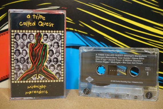 Midnight Marauders by A Tribe Called Quest Vintage Cassette Tape