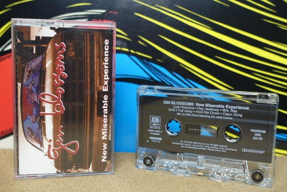 Gin Blossoms Cassette Tape - New Miserable Experience 1992 A&M Records Vintage Analog Music