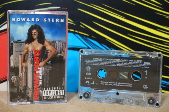 Howard Stern: Private Parts (The Album) by Various Artists Vintage Cassette Tape