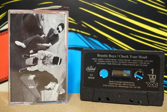 Check Your Head by Beastie Boys Vintage Cassette Tape