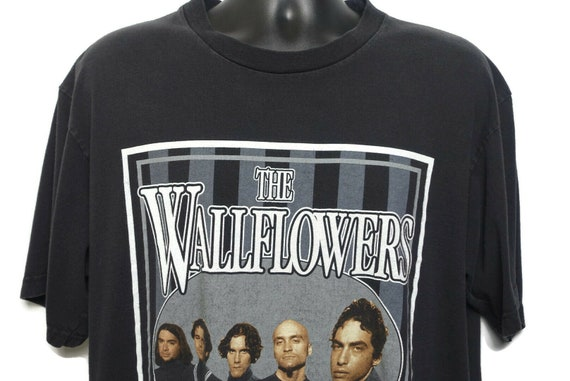 1997 The Wallflowers Vintage T Shirt - Jakob Dylan - One Headlight Bringing Down the Horse Giant Tag Original 90s Summer Tour Band T-Shirt