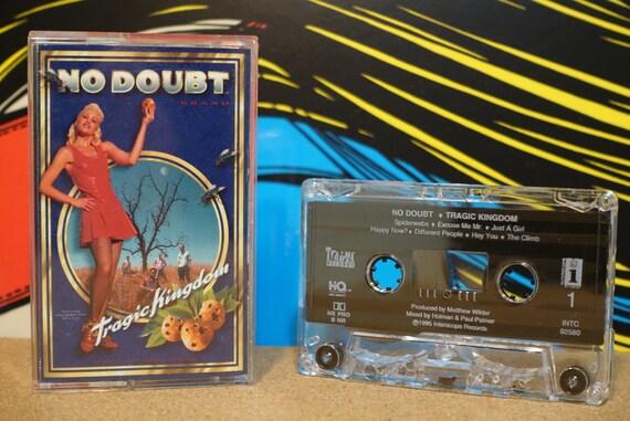 Tragic Kingdom by No Doubt Vintage Cassette Tape