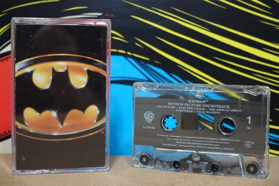 Batman (Motion Picture Soundtrack) by Prince Vintage Cassette Tape