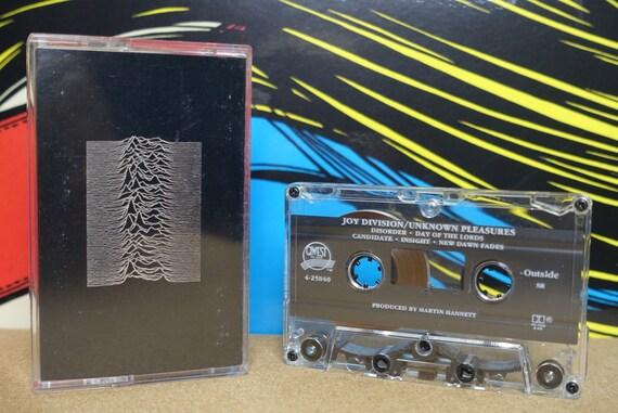 Joy Division - Unknown Pleasures Cassette Tape - 1980 Qwest Records - Vintage Analog Music