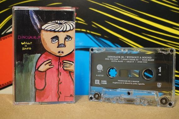 Without A Sound by Dinosaur Jr Vintage Cassette Tape