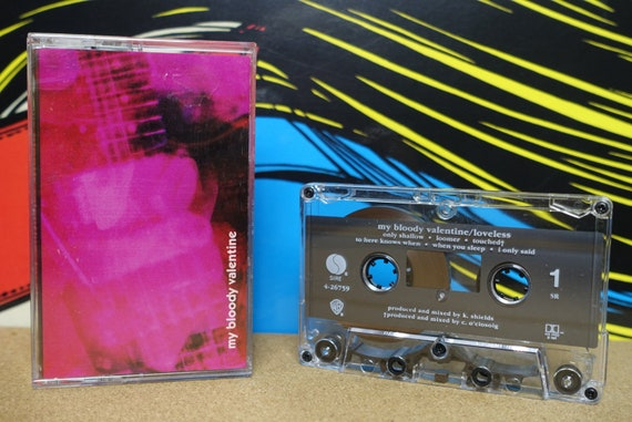 My Bloody Valentine - Loveless Cassette Tape - 1991 Sire Records - Vintage Analog Music