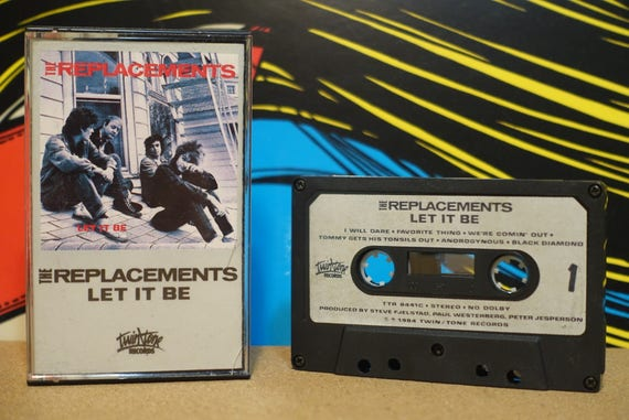 Let It Be by The Replacements Vintage Cassette Tape