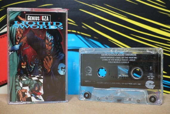 Liquid Swords by Genius* / GZA Vintage Cassette Tape