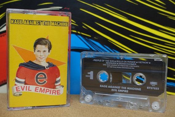 Rage Against The Machine Evil Empire Cassette Tape - 1996 Epic Records Vintage Analog Music