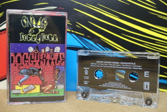 Snoop Doggy Dogg - Doggystyle Cassette Tape - 1993 BMG Death Row Interscope Records Vintage Analog Music