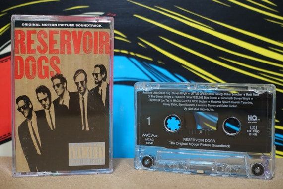 Reservoir Dogs - Original Motion Picture Soundtrack by Various Artists Vintage Cassette Tape
