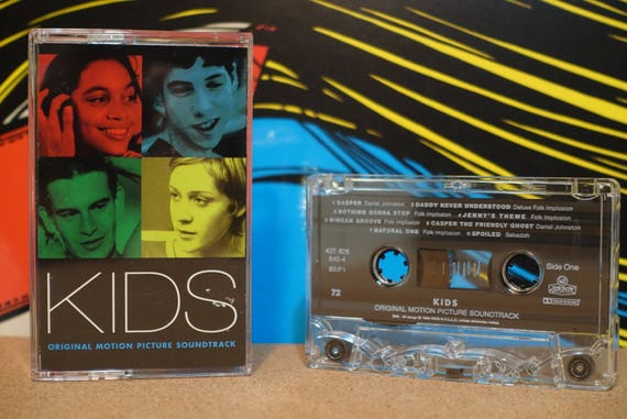 Kids (Original Motion Picture Soundtrack) by Various Artists Vintage Cassette Tape