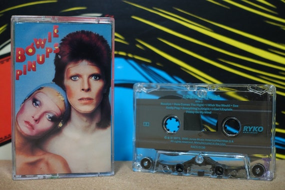 Pinups by David Bowie Vintage Cassette Tape