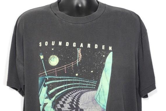 1994 Soundgarden Superunknown Vintage T Shirt - Chris Cornell - GRUNGE - GLOW in the DARK - 2-Sided Original 90s Concert Band T-Shirt