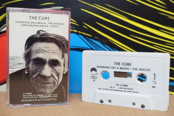 The Cure - Standing On A Beach Cassette Tape The Singles (And Unavailable B-Sides) - 1986 Elektra Records - Vintage Analog Music