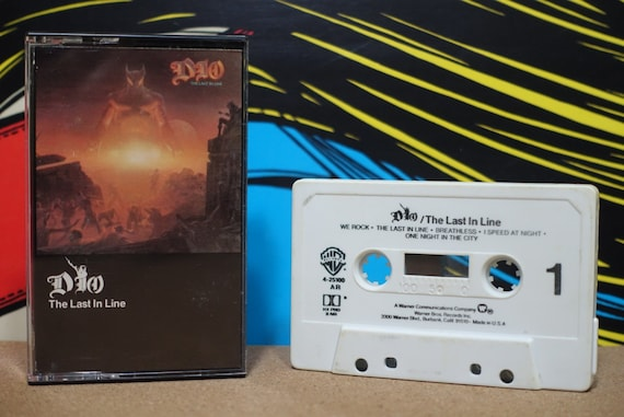 The Last In Line by Dio Vintage Cassette Tape