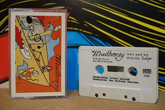 Every Good Boy Deserves Fudge by Mudhoney Vintage Cassette Tape