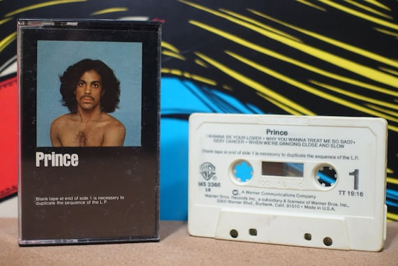 Prince by Prince Vintage Cassette Tape