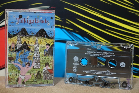Little Creatures by Talking Heads Vintage Cassette Tape